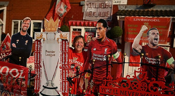 Liverpool Football Club - Premier League Champions 2019-20